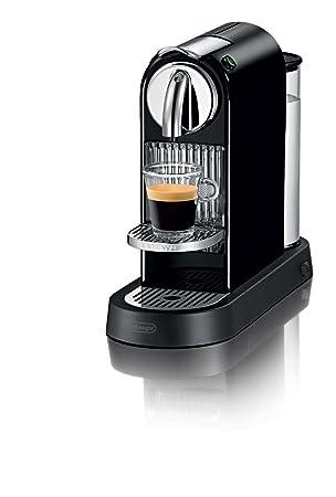 DeLonghi EN 165.B Máquina de café en cápsulas Negro - Cafetera (Máquina de café en cápsulas, 1260 W, Negro): Amazon.es: Hogar