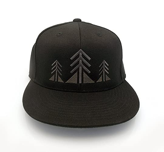 35bc935ad29 Amazon.com  Men s Baseball Hat - Three Trees - Men s Flat bill and ...