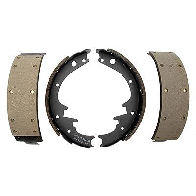 ACDelco 17169R Professional Riveted Rear Drum Brake Shoe Set: Automotive