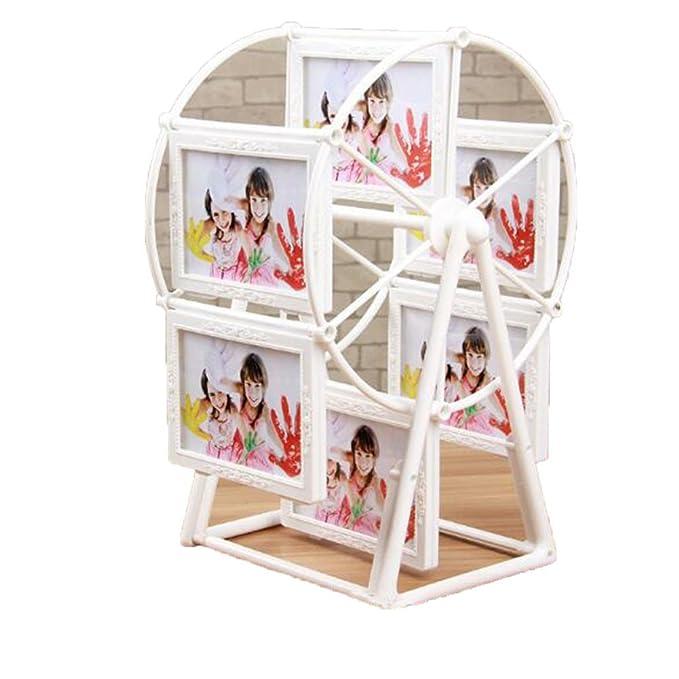 QYU Photo Frame Rotating Ferris Wheel Windmill Shape Retro Style ...