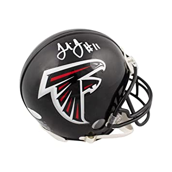59413139644 Amazon.com  Julio Jones Autographed Atlanta Falcons Mini Football Helmet - JSA  COA  Sports Collectibles