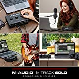 M-Audio M-Track Solo – USB Audio Interface for