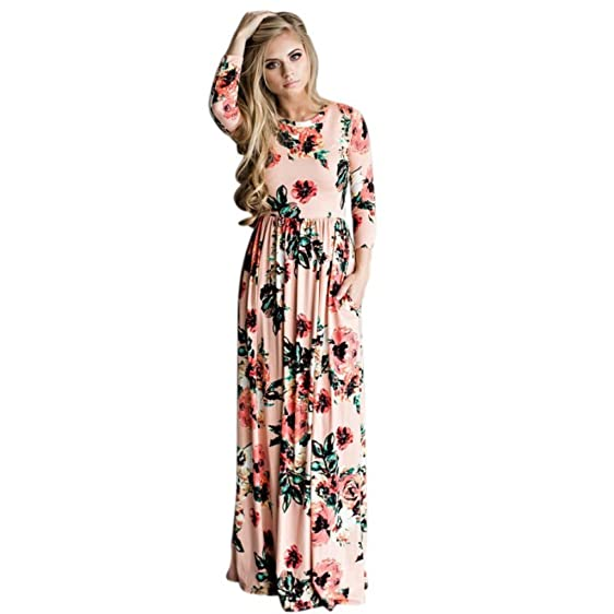 Long dress styles summer