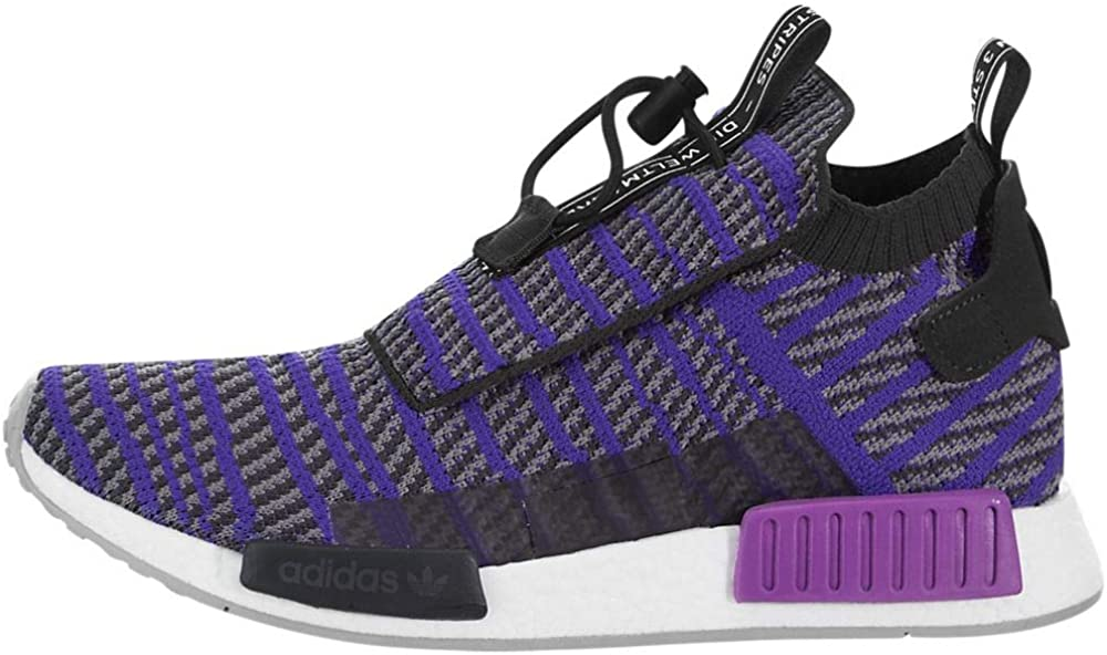 adidas Originals NMD_TS1 Primeknit Shoe - Men's Casual 9.5 Carbon/Energy Ink/Grey