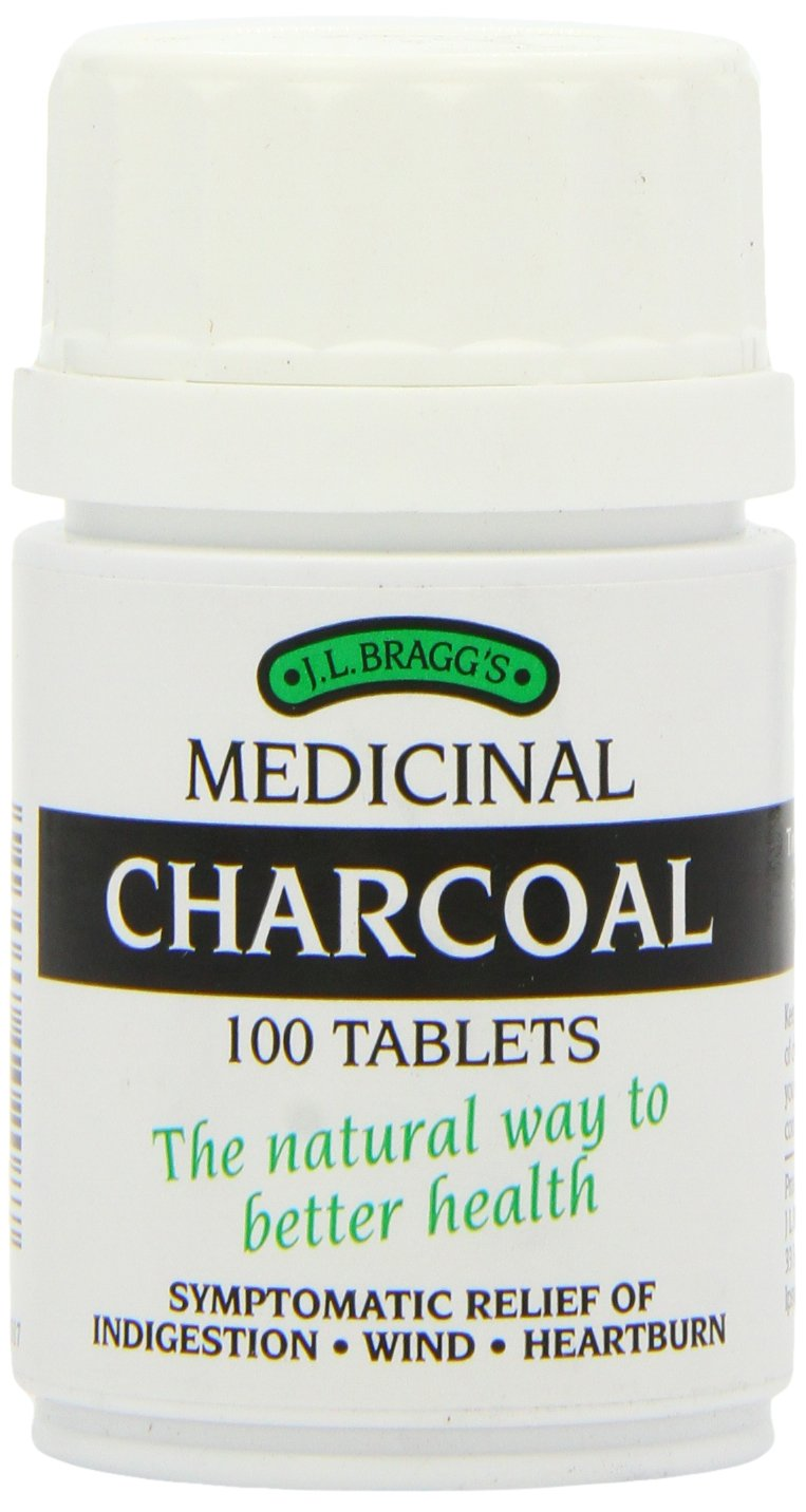 Activated charcoal for heartburn
