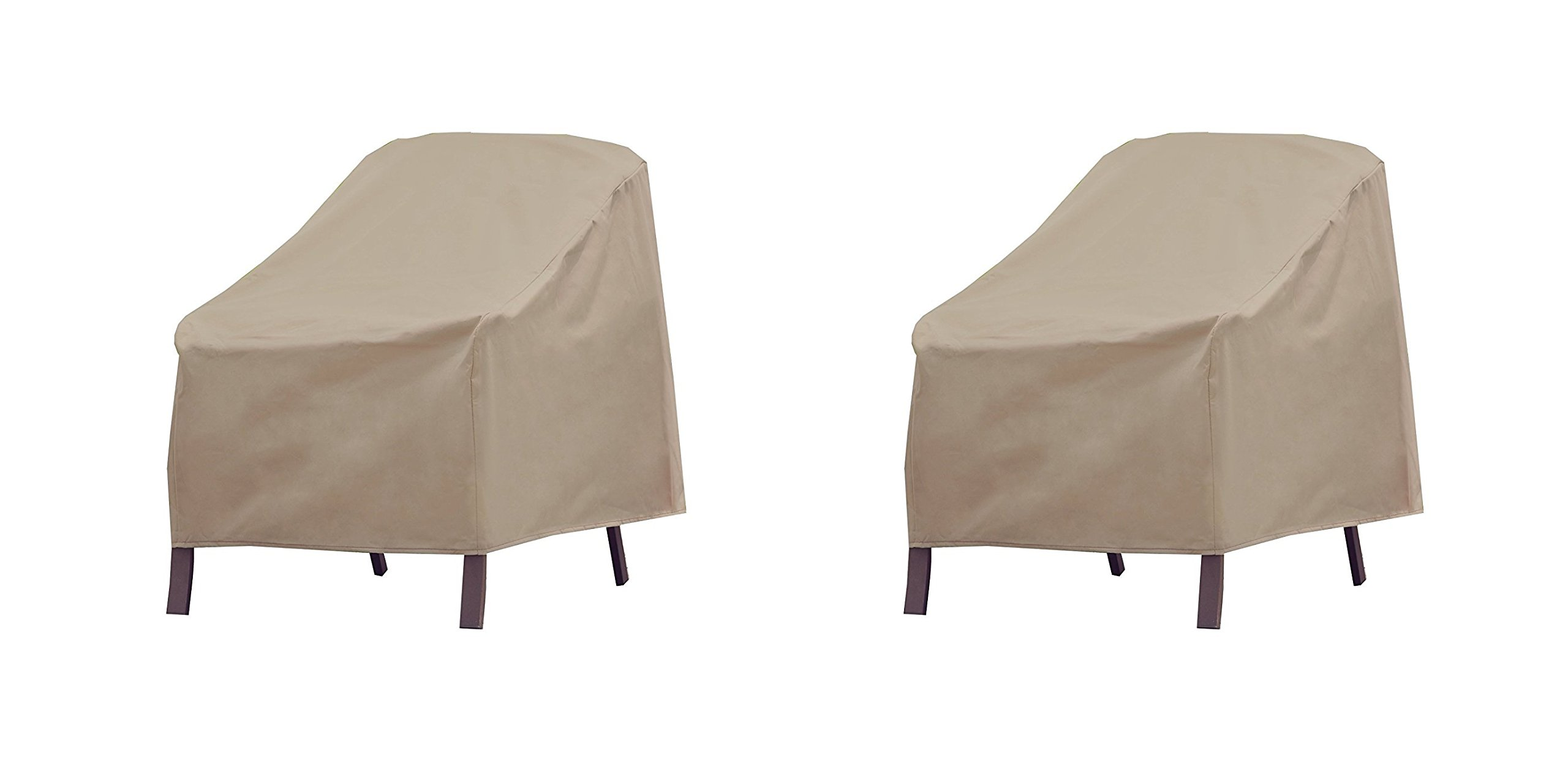 Allen Patio Protectors Patio Furniture Chair Cover, Weather & waterproof patio chair cover (Pack of 2)