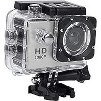 VBESTLIFE Sport Action Camera, waterdichte 1080p onderwatercamera met 140° groothoeklens, 900mAh accu, onderwater 30m…