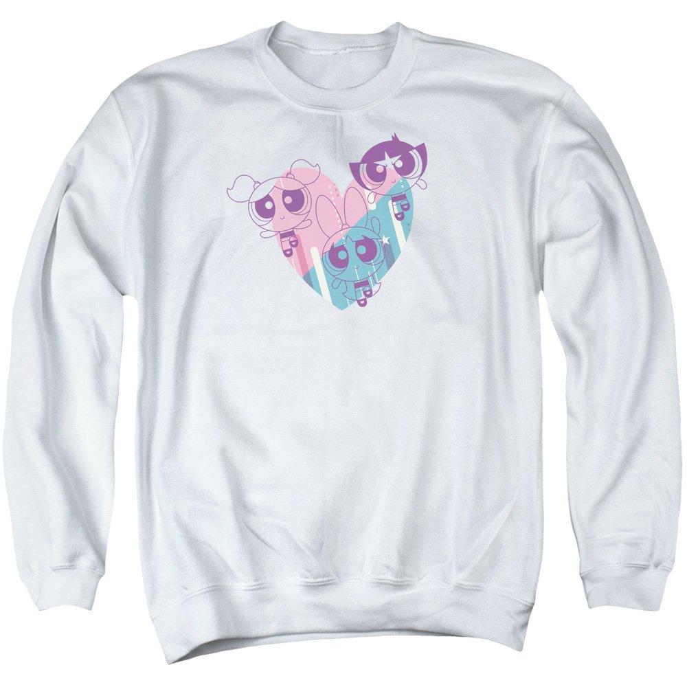 Powerpuff Girls - - Herren Powerpuff Heart Sweater