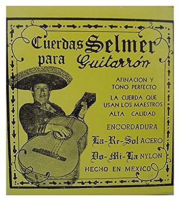 Cuerdas para Guitarron Selmer