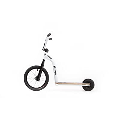 "SIPP 360 16"" FREESTYLE BLANC - TROTTINETTE+SCOOTER TOUT-TERRAIN"