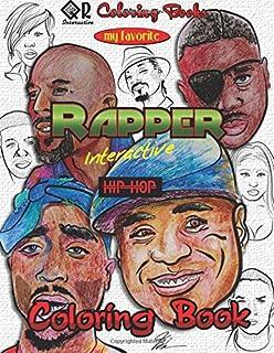 Hip Hop Coloring Book (Colouring Books): Amazon.co.uk: Mark 563 ...