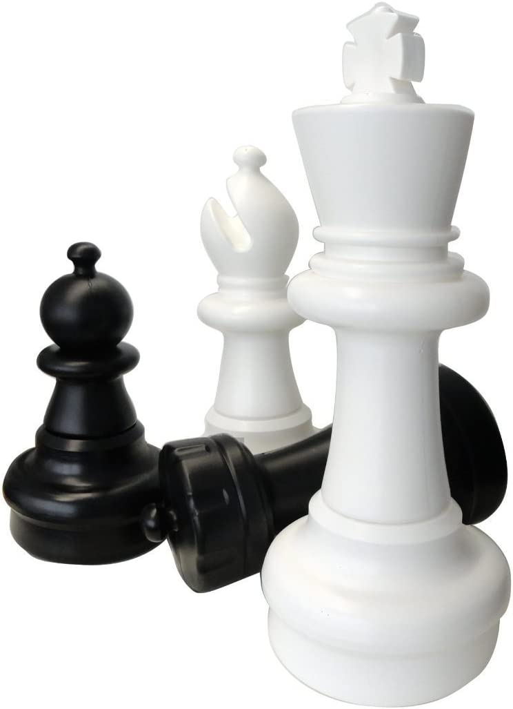 Schach Queen - Piezas Ajedrez Gigante de Jardín MAXI Rey, 63cm (EuroChessInternational GmbH & Co. KG schach queen_E311): Amazon.es: Juguetes y juegos