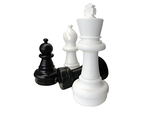 Giant Chess Pieces For Garden Chess And Outdoor MAXI King Size 63 Cm