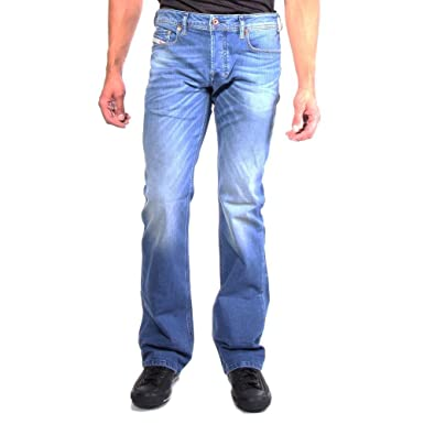 Amazon.com: Diesel Men's Stretch Jeans Bootcut Zatiny 0850W 805W ...