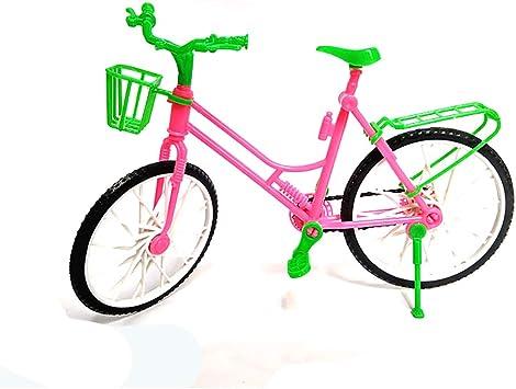 1pc Los niños de simulación Miniatura muñecas de Bicicletas ...