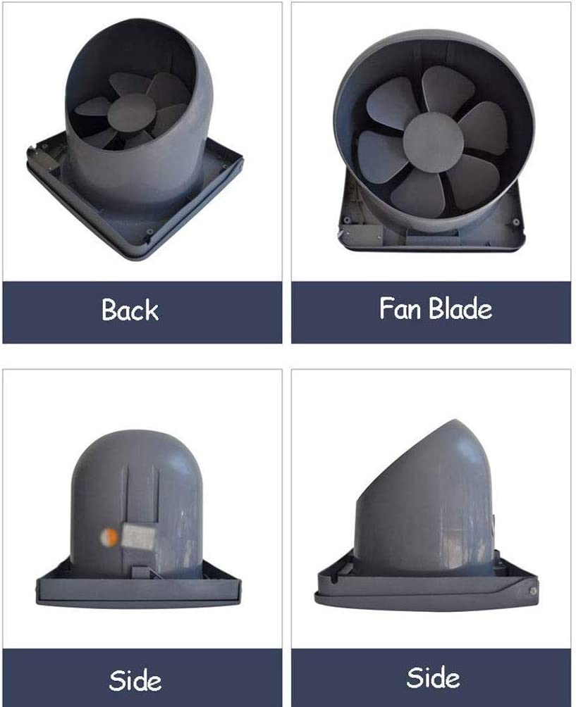 Flip 10 Pouces Hotte Ventilation Ventilateur Cuisine puissante Hotte Ventilateur Silencieux ZSQAW Ventilateur d/échappement