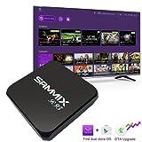 SAMMIX S905X 1G 8G New Android 6.0 TV BOX Amlogic S905X quad core Smart TV 4K player