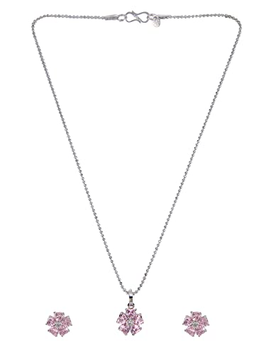 Bridal Beautiful Stylish Stone Collection Silverplated Party Zircon Necklace Set Fancy Colours Fashion Jewelry Jewelry & Watches