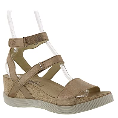 28ce1e929a44 Fly London Wink Women s Sandal 42 M EU Bronze  Amazon.co.uk  Shoes ...