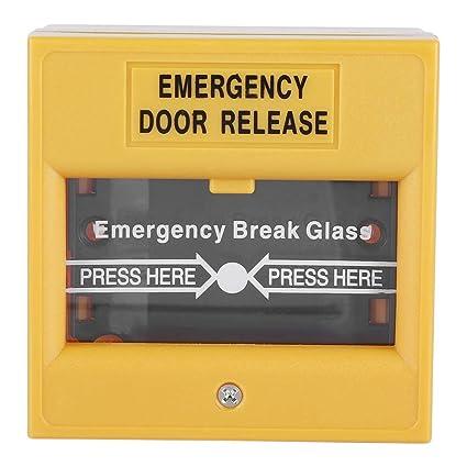 Boton de emergencia - Botón de alarma de salida de ...