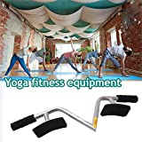 Forfar Portable Spinal Traction Device Strength Yoga Support Rack Stands Easy Comfortable Body Therapy