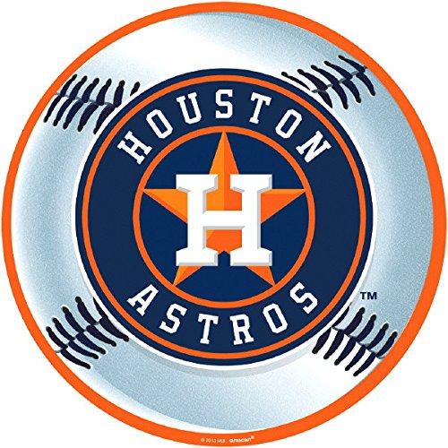 Astro Collection - amscan Houston Astros Major League Baseball Collection Cutout, Party Decoration, 6 Ct.