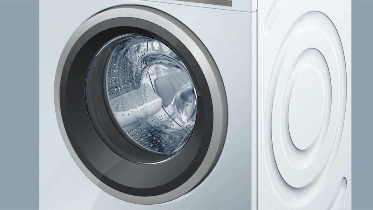 Siemens IQ700 WM14W5A1 ISensoric Premium Waschmaschine / A+++ / 1400 UpM /  8 Kg / Weiß / Nachlegefunktion / Antiflecken System / Super15: Amazon.de:  ...