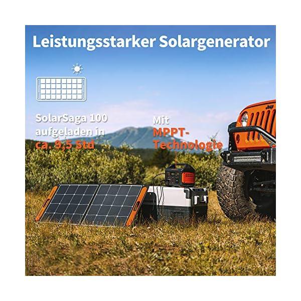 61pjDHljq9L Jackery Tragbare Powerstation Explorer 500 - 518 Wh Batterie Mobiler Stromspeicher & Solar Generator mit 230V Steckdose…