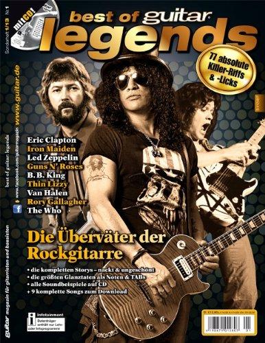 Best of guitar Legends. 77 unsterbliche Riffs & Licks