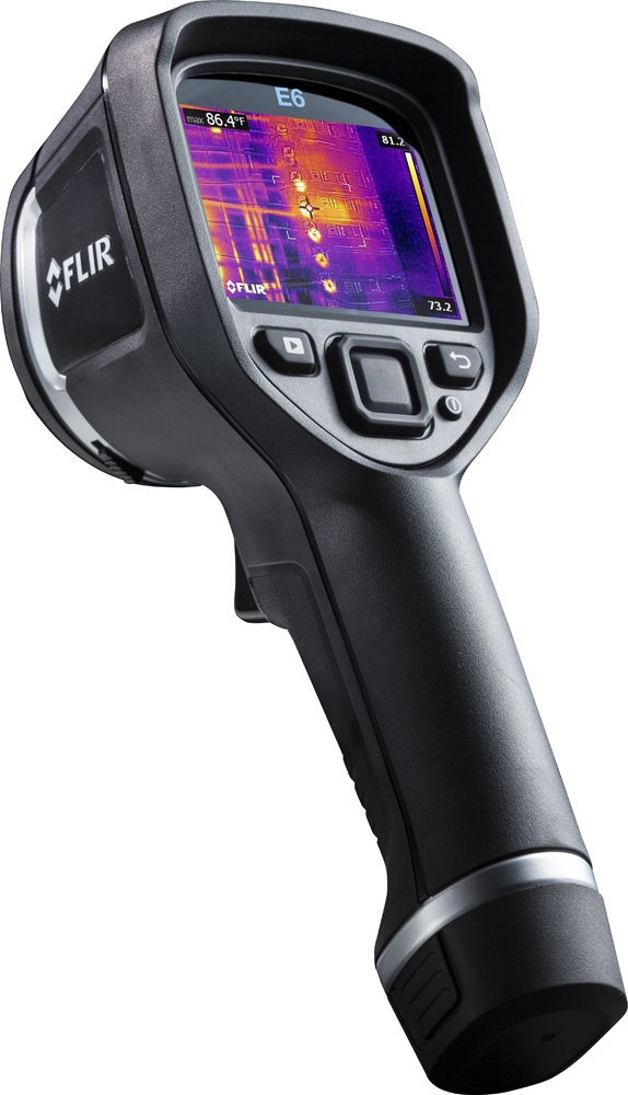 FLIR E6-NIST Compact Thermal Imaging Camera with 160 x 120 IR Resolution, MSX and NIST (Discontinued by Manufacturer)