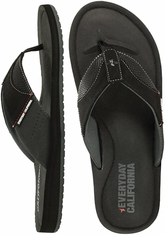 Black-OSD17 Everyday California-Mens Sandals- O/'Side Choose Size New w Tag