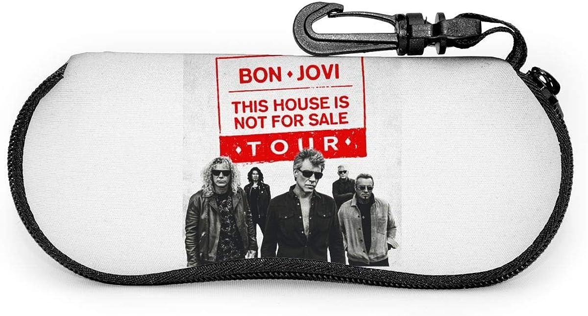 Bon Jovi Luxus Mode Unisex Sonnenbrille Rei/ßverschluss Etui Schutztasche Brillenetui