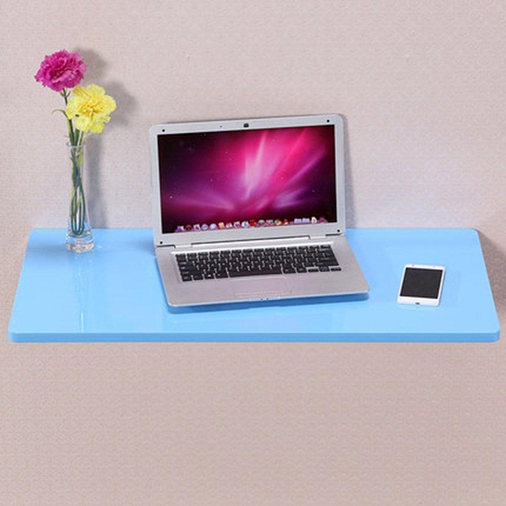 マチョン コンピュータデスク シンプルな壁に取り付けられたデスクコーナーデスクの壁コンピュータのデスクの壁のデスク (色 : Blue, サイズ さいず : 100cm*40cm) B07F637NSJ 100cm*40cm|Blue Blue 100cm*40cm