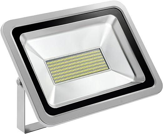 Foco proyector LED 150W para exteriores, 11000LM, Blanco frio 6000 ...