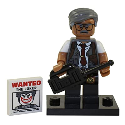 LEGO Batman Movie Series 1 Collectible Minifigure - Commissioner Gordon (71017): Toys & Games
