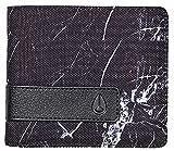 Nixon Showdown Bi-fold Wallet - Marbled Black Smoke