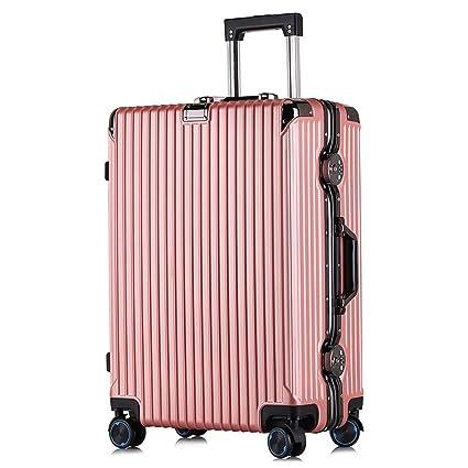 3c024d507662 Amazon.com: FDSjd Travel Suitcase Luggage Aluminum Frame Trolley ...
