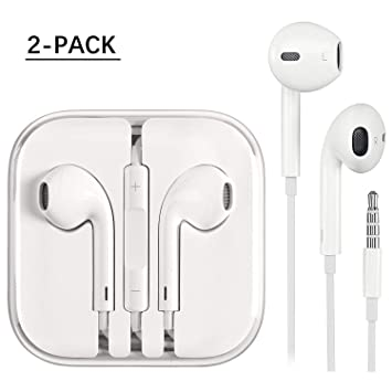 ONPIE Headphones,Stereo Sound Noise Cancelling Earphones Sports Headphones with Built-in Mic for Phone //6s Plus//5s//SE,Galaxy,Android Smartphones,Tablets and More in-Ear Earbuds Earphones