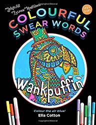 Colourful Swear Words Entertaining Insults In An Adult Coloring Book