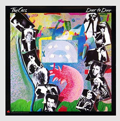 The Cars Door to Door 1987 New Album Promo Vintage Poster
