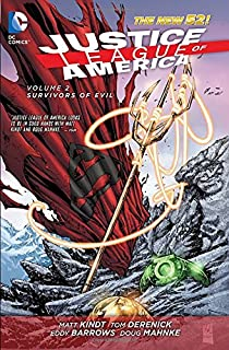 Book Cover: Justice League of America Vol. 2: Survivors of Evil