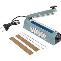 20cm Heat Sealing Machine, 220V 300W Manual Sealer Machine, Metal Heat Sealing Impulse Manual Sealer Machine Closer Bag…