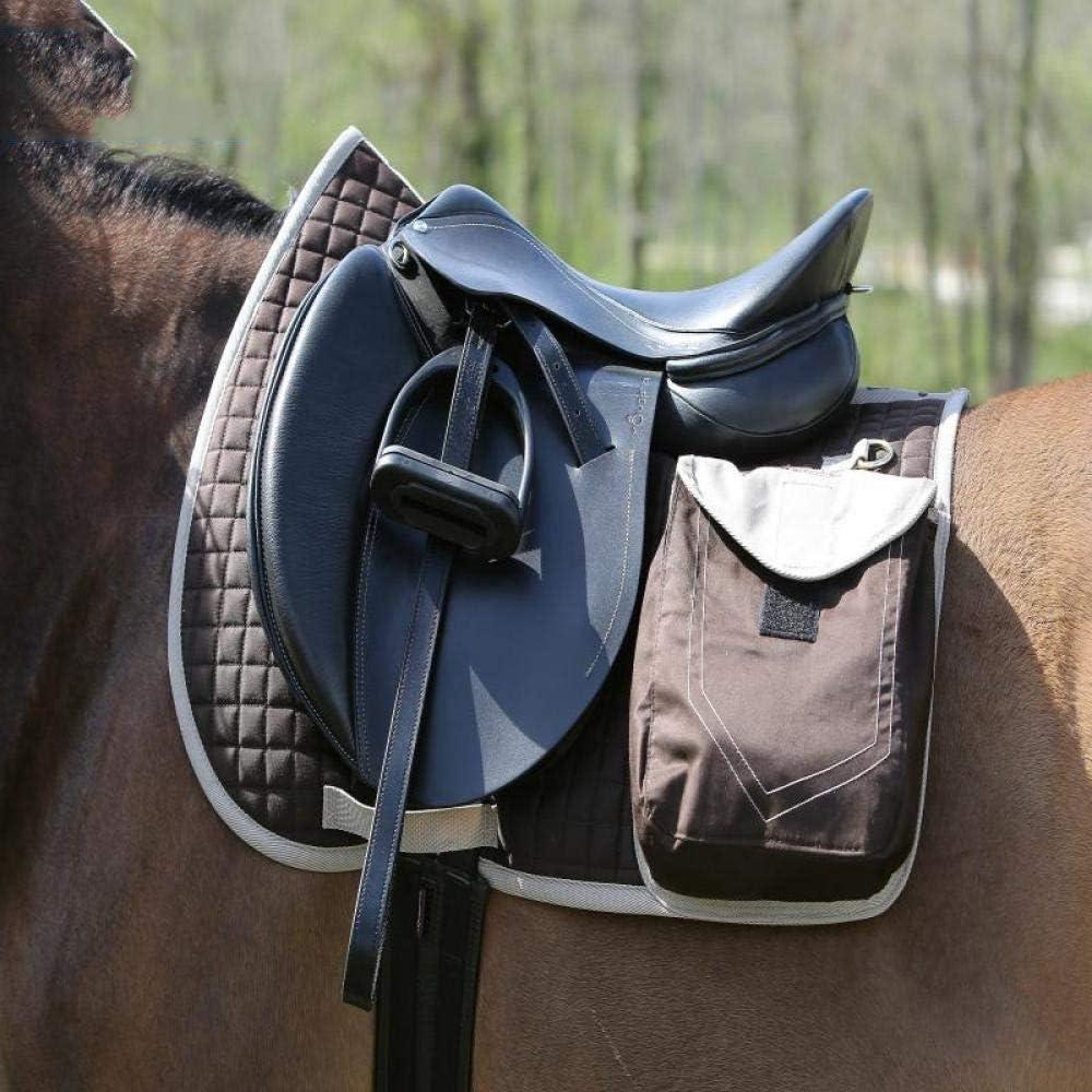 CLBING Pferdesattelpolster Geeignet F/ür Springen Und Alltagsreiten Atmungsaktiv Mit Schwei/ßabsorbierenden Eigenschaften,Brown