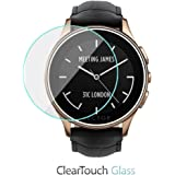 Vector Luna Screen Protector, BoxWave [ClearTouch Glass] 9H Tempered Glass Screen Protection for Vector Luna