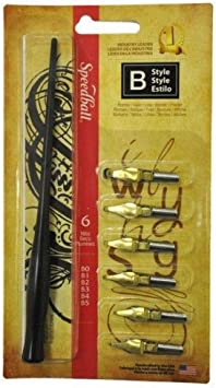 SPEEDBALL ART PRODUCTS 2956 B STYLE LETTERING SET