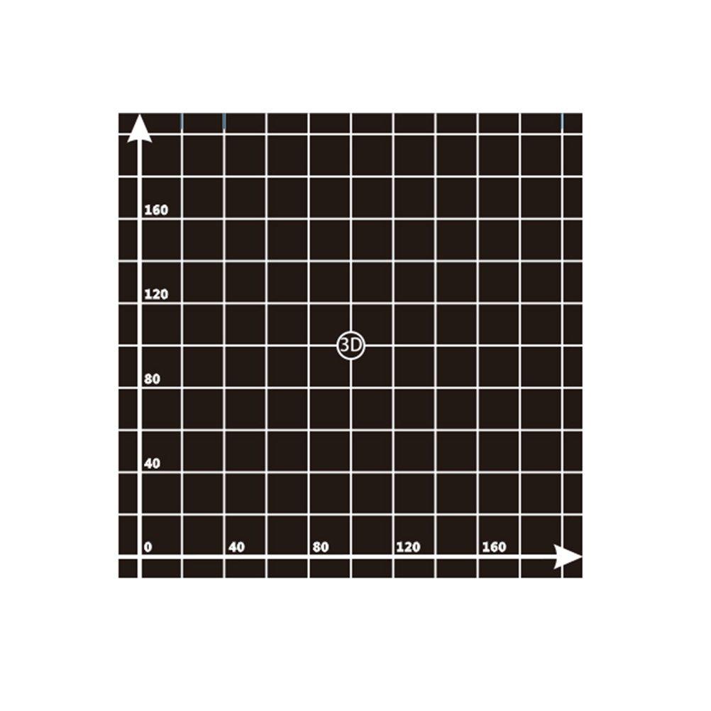 UKCOCO 3D Printing Build Surface Sheet for 3D Printer - 220x220mm (Black)