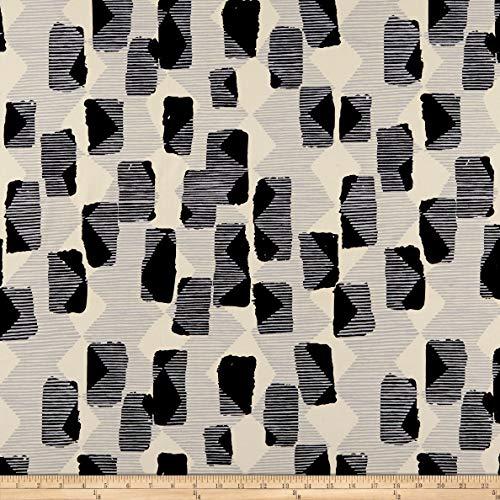 FreeSpirit Fabrics Vestige Tilli Rain Fabric, Natural, Fabric By The Yard