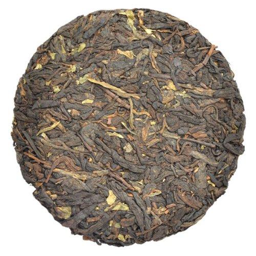 2009 Organic Sticky Rice Aroma Pu'er Tea Ripe Cake 100g