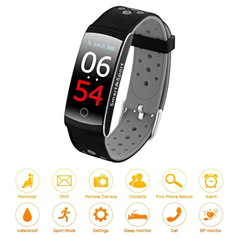 Amazon.com: XCSOURCE Q8S Fitness Tracker IP68 - Reloj ...