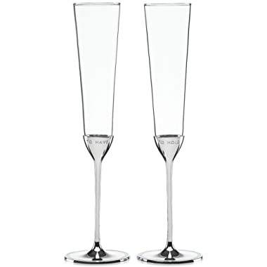 kate spade new york Take the Cake Toasting Flute Pair - 2 ct